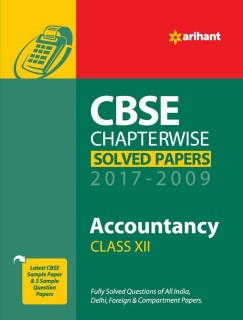 CBSE CHAPTERWISE SOLVED PAPERS CLASS 12 ACCOUNTANCY (2017-2009) price comparison at Flipkart, Amazon, Crossword, Uread, Bookadda, Landmark, Homeshop18