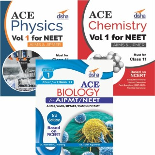 Ace Physics, Chemistry & Biology Vol 1 for NEET, Class 11 & other Medical Entrance Exams price comparison at Flipkart, Amazon, Crossword, Uread, Bookadda, Landmark, Homeshop18