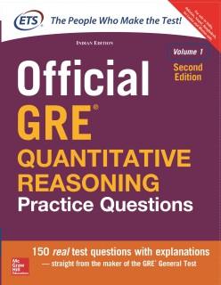 Official GRE Quantitative Reasoning Practice Questions(Volume - 1) Second Edition price comparison at Flipkart, Amazon, Crossword, Uread, Bookadda, Landmark, Homeshop18