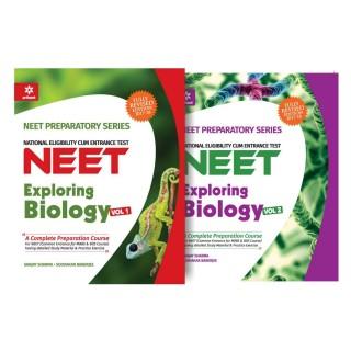 NEET - Exploring Biology Volume 1 & 2 (Pack of 2) price comparison at Flipkart, Amazon, Crossword, Uread, Bookadda, Landmark, Homeshop18