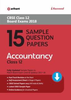 15 Sample Question Paper Accountancy Class 12th CBSE price comparison at Flipkart, Amazon, Crossword, Uread, Bookadda, Landmark, Homeshop18