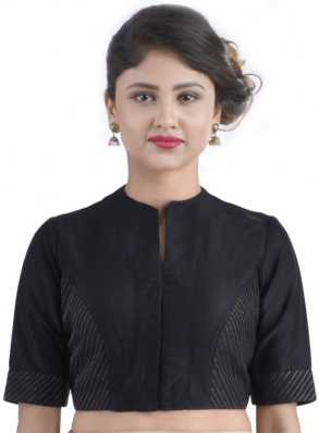 835d74e2f2c485 High Neck Blouse - Buy High Neck Blouse online at Best Prices in ...