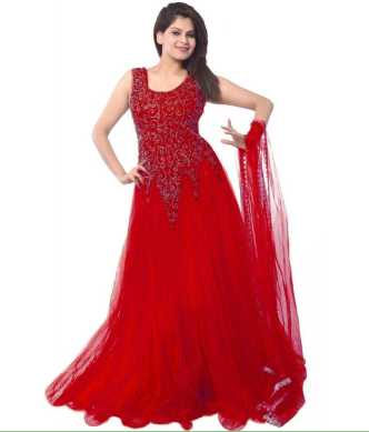 40193d0ee264 Red Gowns - Buy Red Gowns Online at Best Prices In India