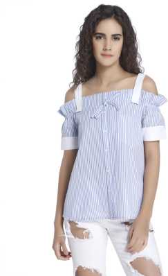 f1adbf913af Cold Shoulder Tops - Buy Cut Out Shoulder Tops Online at Best Prices In  India
