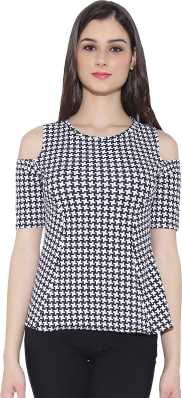 720bfc91f8 Cold Shoulder Tops - Buy Cut Out Shoulder Tops Online at Best Prices ...