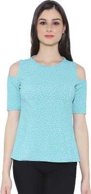 9773b832e913 Cold Shoulder Tops - Buy Cut Out Shoulder Tops Online at Best Prices ...
