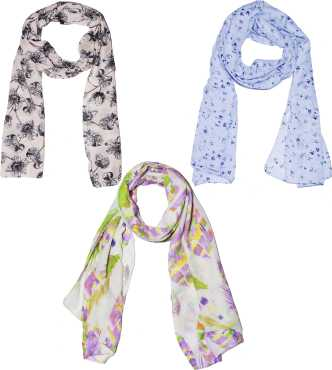 7563d79733d Scarves   Stoles - Buy Stoles   Scarves for Women Online at Best ...