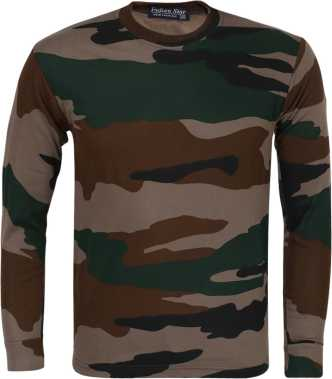 bde1e374e Indian Army T Shirts - Buy Military / Camouflage T Shirts online at ...
