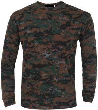 420b35511dbf7 Indian Army T Shirts - Buy Military   Camouflage T Shirts online at ...