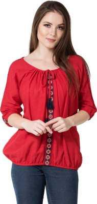 8500b89c39e Knots Tie Ups Tops - Buy Knots Tie Ups Tops Online at Best Prices In ...