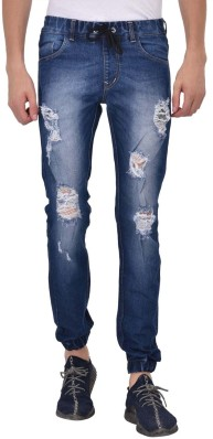 Valuable male jeans wet spot