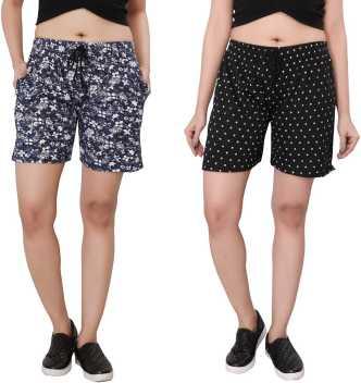b59b86e6c9 Women Shorts - Buy Ladies Shorts, Denim Shorts & Hotpants Online - Flipkart