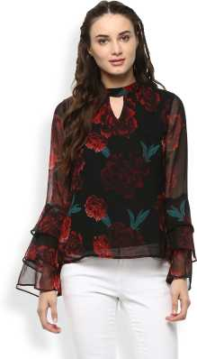 8a1d520e7dc5c2 Floral Tops - Buy Floral Tops Online For Women at Best Prices In ...