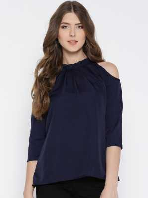 Cold Shoulder Tops - Buy Cut Out Shoulder Tops Online at Best Prices In  India  f7ac6c463