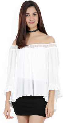 341e96a0759 Off Shoulder Tops - Buy Off Shoulder Tops   One Shoulder Tops Online ...