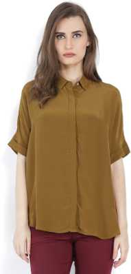1ead62fee0c Women's Shirts Online at Best Prices In India|Buy ladies' shirts ...