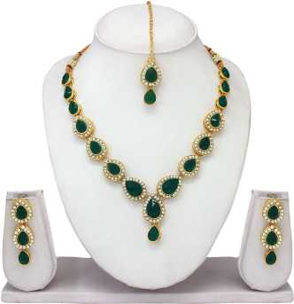 a01e8f9bdb005 Gold Choker Necklaces - Buy Gold Choker Necklaces online at Best ...