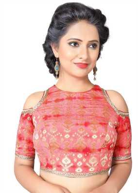 bd9a960cf40fb Off Shoulder Blouses - Buy Off Shoulder Saree Blouses online at Best ...