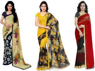 Golden Saree Buy Golden Colour Sarees Online At Best Prices In
