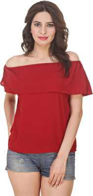 3481050d82708 Off Shoulder Tops - Buy Off Shoulder Tops   One Shoulder Tops Online ...