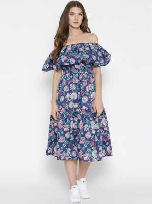 e4f81ab7ee Ruffle Dress - Buy Ruffles Dresses Online at Best Prices In India ...