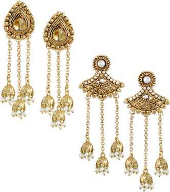 Earrings Online For Women S At Best Prices In India Flipkart