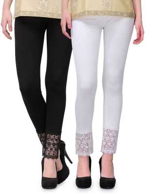 ffa5b05ba Leggings Churidars - Buy Leggings Churidars Online for Women at Best ...
