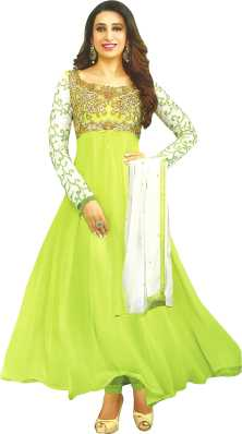 a974b9941d1 Semi Stitched Salwar Suit Dupatta Material Dress Materials - Buy ...