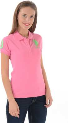 2d600d55400c Women T-Shirts - Buy Polos   T-Shirts for Women Online at Best ...