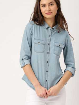 1f45c12bdff Women s Shirts Online at Best Prices In India