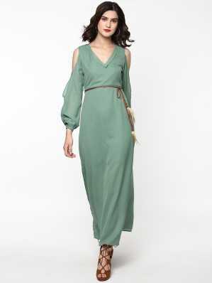 Cold Shoulder Dress - Buy Cold Shoulder Dresses Online at Best Prices In  India  d4a0ff740