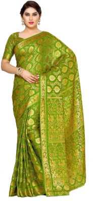 ed142c66e6902d Mimosa. Woven Kanjivaram Art Silk Saree · ₹1,899. ₹4,747. 59% off · 5