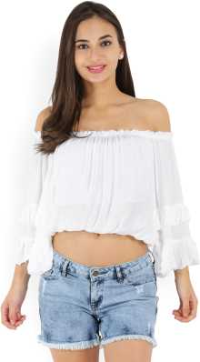 eee2ef6f89293 Crop Tops - Buy Crop Tops Online at Best Prices In India