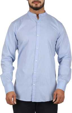 c8d4cd876 Mandarin Collar Shirts - Buy Mandarin Collar Shirts Online at Best ...