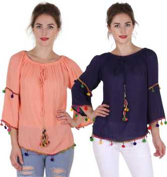 e4584b3f5d0 Designer Tops - Buy Latest Designer Tops Collections online at best ...