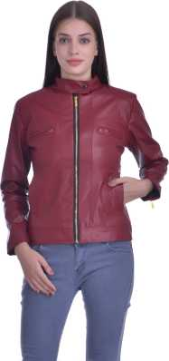 21f7f3a3c7465 Jackets for Women - Buy Ladies Leather Jackets Online at Best Prices ...