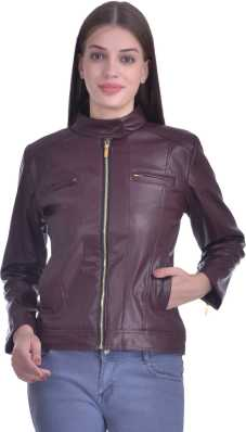 0831b8a1d82 Leather Jackets - Buy Leather Jackets For Men   Women Online on ...