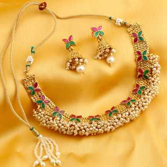 fa1765dbacc04 Necklaces For Girls - Buy Necklaces For Girls online at Best Prices ...