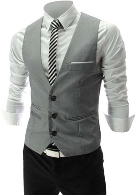 Baby Boys Grey Outfit Shirt Waistcoat Trousers Smart Formal Party Suit 3 M 4 Y