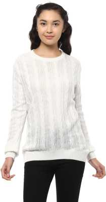 Sweaters Pullovers - Buy Sweaters Pullovers Online for Women at Best ... db15efc47e36