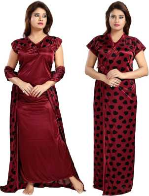a3370292eb Cotton Nighties - Buy Cotton Night Dresses Nighties Online at Best Prices  In India