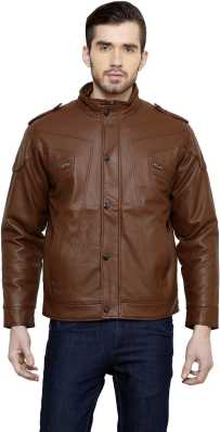 835925fa79b Leather Jackets - Buy leather jackets for men   women online on ...