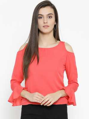 a091f09abb Cold Shoulder Tops - Buy Cut Out Shoulder Tops Online at Best Prices ...