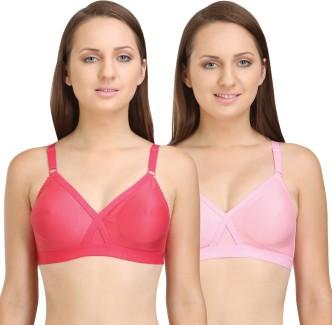 Teen red bra strip