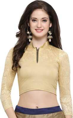 Golden Blouse Buy Golden Blouse Designs Online At Best Prices
