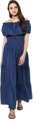 4b767b77499 Off the Shoulder Dress - Buy Off the Shoulder Dresses Online at Best ...