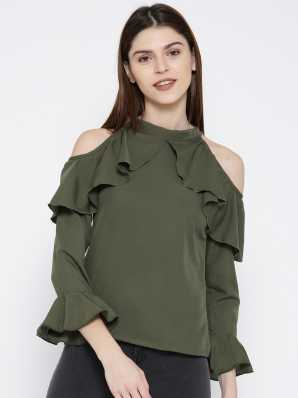 d588f8fb5c5 Ruffles Tops - Buy Ruffles Tops Online at Best Prices In India ...