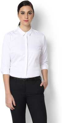 White Shirts For Womens - Buy White Shirts For Womens online at Best ... b7533e067