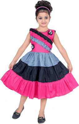 f53c3a2dd77 Girls Clothes - Buy Girls Frocks   Dresses Online at Best Prices in ...