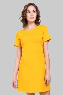 fd962de875 Tshirt Dress Dresses - Buy Tshirt Dress Dresses Online at Best Prices In  India | Flipkart.com